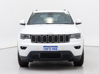 2018 Jeep Grand Cherokee WK MY18 Laredo (4x2) White 8 Speed Automatic Wagon.