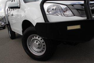 2015 Isuzu D-MAX MY15 SX Crew Cab Splash White 5 Speed Sports Automatic Utility.