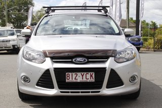 2014 Ford Focus LW MkII MY14 Titanium PwrShift Ingot Silver 6 Speed Sports Automatic Dual Clutch