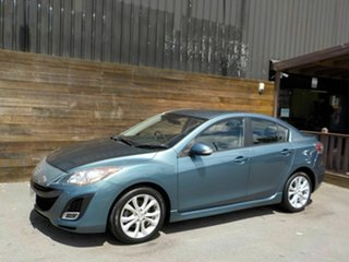 2009 Mazda 3 BL10L1 SP25 Blue 6 Speed Manual Sedan