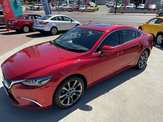 2015 Mazda 6 6C MY14 Upgrade Atenza Red 6 Speed Automatic Wagon