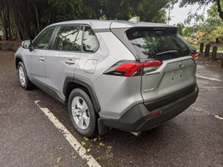 2019 Toyota RAV4 Axah52R GX 2WD Silver 6 Speed Constant Variable Wagon Hybrid