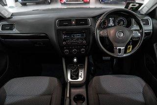 2013 Volkswagen Jetta 1B MY13.5 118TSI DSG Comfortline Silver 7 Speed Sports Automatic Dual Clutch.