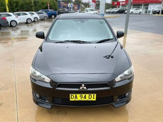 2011 Mitsubishi Lancer VR-X Black Manual Hatchback