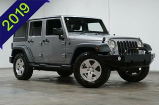 2018 Jeep Wrangler JK MY18 Unlimited Sport Silver 6 Speed Manual Softtop.
