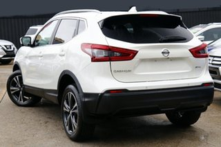 2019 Nissan Qashqai J11 Series 2 ST-L X-tronic White Pearl 1 Speed Constant Variable Wagon.