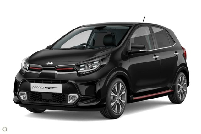 New Kia Picanto JA MY21 GT Reynella, 2020 Kia Picanto JA MY21 GT Black 5 Speed Manual Hatchback