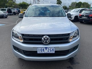 2015 Volkswagen Amarok 2H MY15 TDI400 4Mot Silver 6 Speed Manual Utility
