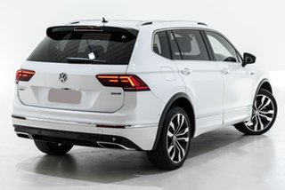 2020 Volkswagen Tiguan 5N MY20 162TSI Highline DSG 4MOTION Allspace White 7 Speed.
