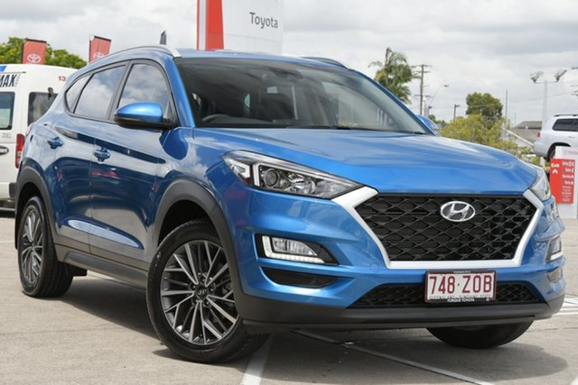 Pre-Owned Hyundai Tucson TL4 MY20 Active X 2WD Albion, 2019 Hyundai Tucson TL4 MY20 Active X 2WD Blue 6 Speed Automatic Wagon
