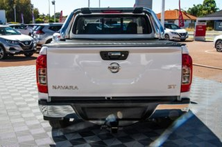 2020 Nissan Navara D23 S4 MY20 ST King Cab Polar White 7 Speed Sports Automatic Utility.