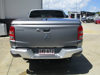2018 Mitsubishi Triton MQ MY18 GLX Double Cab Grey 5 Speed Sports Automatic Utility.