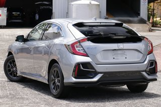 2020 Honda Civic 10th Gen MY20 VTi-S Lunar Silver 1 Speed Constant Variable Hatchback.