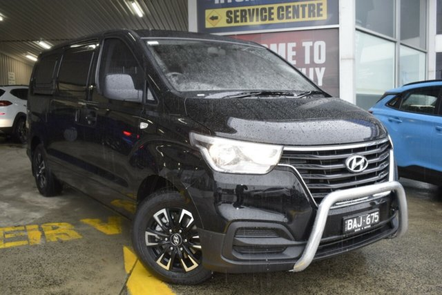 Used Hyundai iLOAD TQ4 MY19 Ferntree Gully, 2019 Hyundai iLOAD TQ4 MY19 Black/Grey 5 Speed Automatic Van