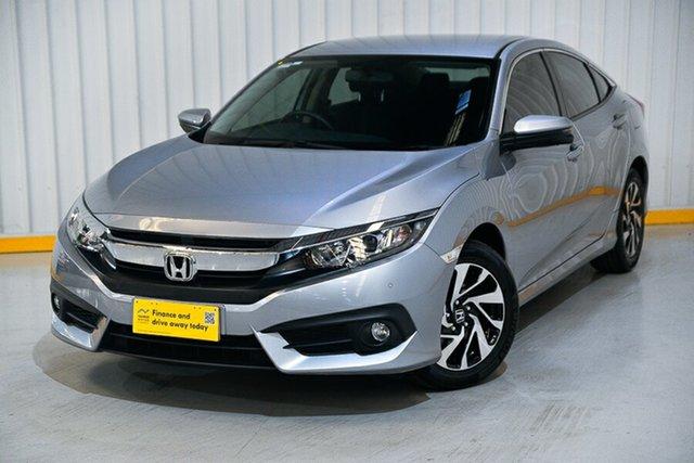 Used Honda Civic 10th Gen MY17 VTi-S Hendra, 2017 Honda Civic 10th Gen MY17 VTi-S Silver 1 Speed Constant Variable Sedan