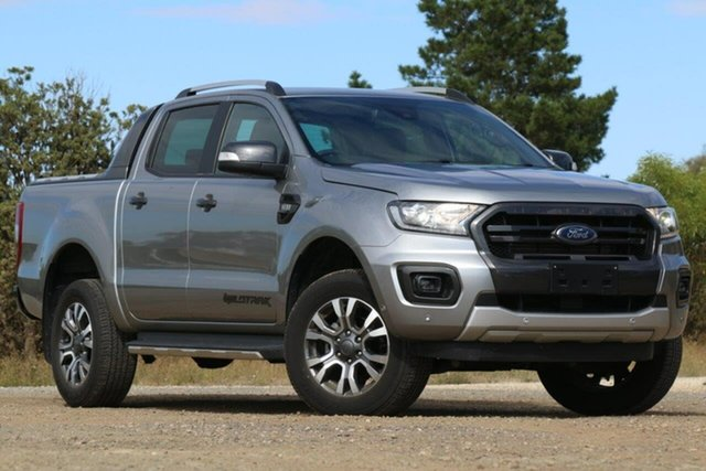 Used Ford Ranger PX MkIII 2019.00MY Wildtrak Clare, 2019 Ford Ranger PX MkIII 2019.00MY Wildtrak Silver 6 Speed Sports Automatic Double Cab Pick Up