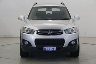 2012 Holden Captiva CG Series II MY12 7 AWD CX Silver 6 Speed Sports Automatic Wagon.