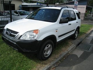 2004 Honda CR-V MY04 (4x4) White 4 Speed Automatic Wagon.