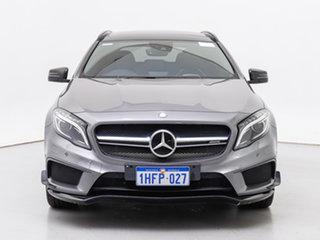 2015 Mercedes-AMG GLA 45 AMG 4MATIC X156 MY16 Mountain Grey 7 Speed Auto Dual Clutch Wagon.