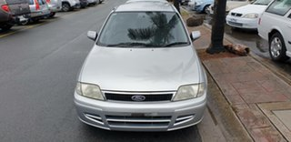 2001 Ford Laser KQ LXI Silver 4 Speed Automatic Hatchback.