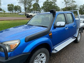 2011 Ford Ranger PK XLT Crew Cab Blue 5 Speed Manual Utility