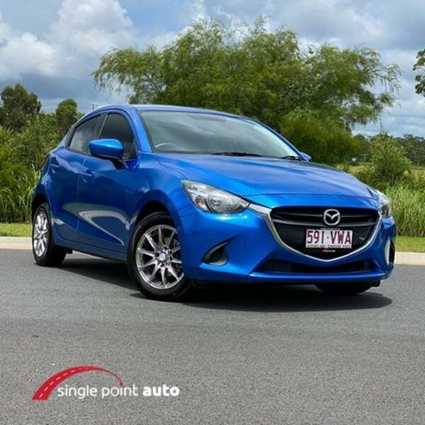 Used Mazda 2 DJ2HA6 Neo SKYACTIV-MT Chevallum, 2015 Mazda 2 DJ2HA6 Neo SKYACTIV-MT Blue 6 Speed Manual Hatchback