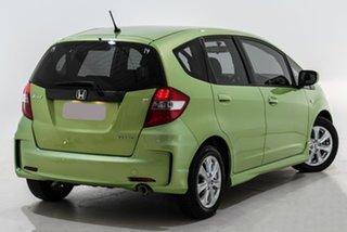 2013 Honda Jazz GE MY13 VTi Green 5 Speed Automatic Hatchback.