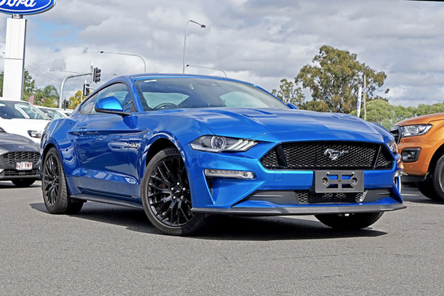 Used Ford Mustang FN 2020MY GT Ebbw Vale, 2020 Ford Mustang FN 2020MY GT Blue 10 Speed Sports Automatic Fastback