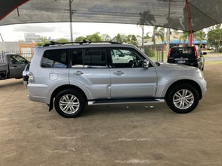 2015 Mitsubishi Pajero NX MY16 GLX LWB (4x4) Silver 5 Speed Auto Sports Mode Wagon.