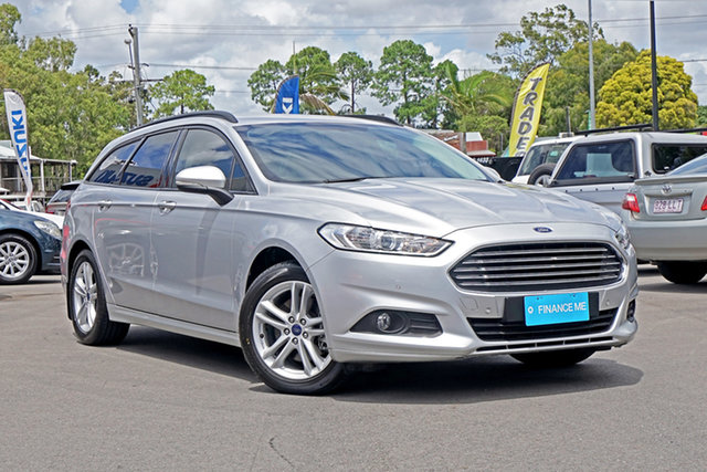 Used Ford Mondeo MD 2017.50MY Ambiente Chandler, 2017 Ford Mondeo MD 2017.50MY Ambiente Silver 6 Speed Sports Automatic Dual Clutch Wagon