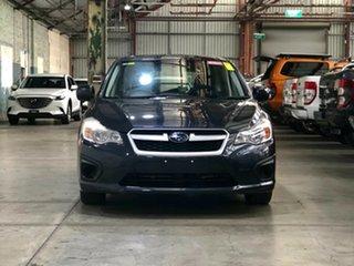 2014 Subaru Impreza G4 MY14 2.0i Lineartronic AWD Darkgrey/cloth 6 Speed Constant Variable Hatchback.