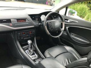 2009 Citroen C5 X7 Exclusive HDi White 6 Speed Sports Automatic Sedan.