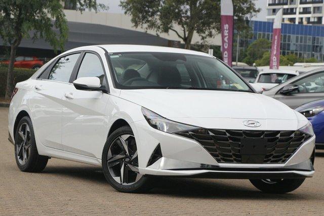 New Hyundai i30 CN7.V1 MY21 Active Elizabeth, 2020 Hyundai i30 CN7.V1 MY21 Active White 6 Speed Sports Automatic Sedan