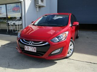 2014 Hyundai i30 GD2 MY14 Trophy Red 6 Speed Sports Automatic Hatchback.