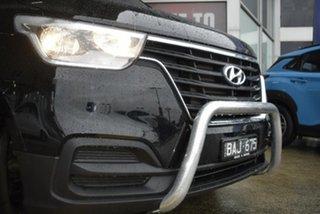 2019 Hyundai iLOAD TQ4 MY19 Black/Grey 5 Speed Automatic Van.