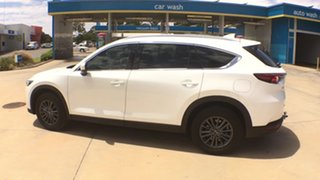 2020 Mazda CX-8 KG2WLA Sport SKYACTIV-Drive FWD Snowflake White Pearl 6 Speed Sports Automatic Wagon