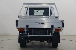 2020 Toyota Landcruiser VDJ79R GXL Double Cab Silver 5 Speed Manual Cab Chassis