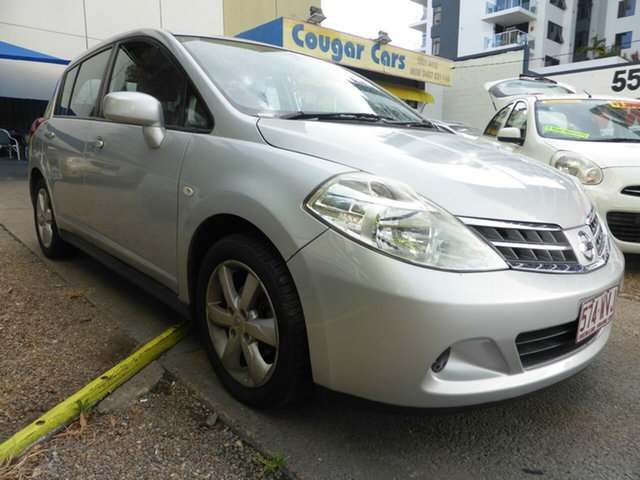 Used Nissan Tiida C11 Series 3 MY10 ST Southport, 2012 Nissan Tiida C11 Series 3 MY10 ST Silver 4 Speed Automatic Hatchback