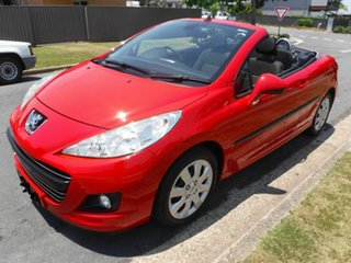 2009 Peugeot 207 A7 CC SERIES 2 Red 4 Speed Automatic Convertible
