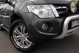 2014 Mitsubishi Pajero NW MY14 VR-X Graphite 5 Speed Sports Automatic Wagon.