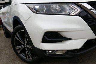 2019 Nissan Qashqai J11 Series 2 ST-L X-tronic White Pearl 1 Speed Constant Variable Wagon.