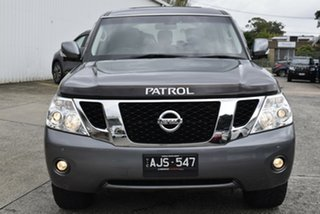 2016 Nissan Patrol Y62 MY15 TI Grey 7 Speed Sports Automatic Wagon.