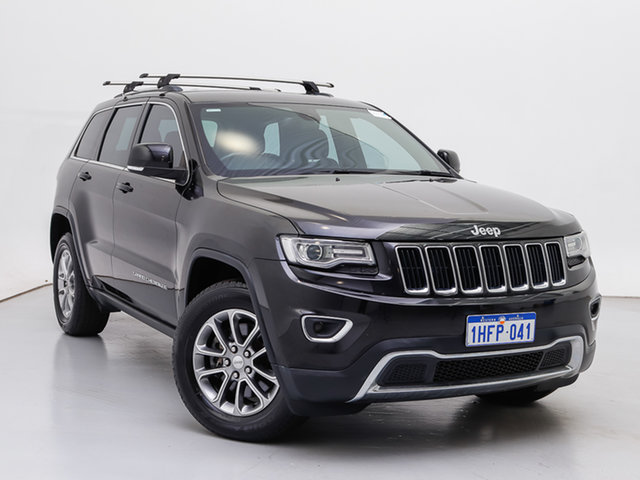 Used Jeep Grand Cherokee WK MY14 Laredo (4x4), 2013 Jeep Grand Cherokee WK MY14 Laredo (4x4) Black 8 Speed Automatic Wagon