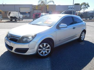 2007 Holden Astra AH MY07 CD Silver 5 Speed Manual Coupe.