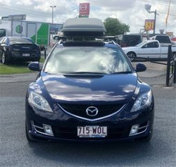 2009 Mazda 6 GH1021 Blue 6 Speed Manual Wagon.