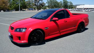 2007 Holden Ute VE SS V Red 6 Speed Manual Utility