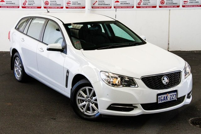Pre-Owned Holden Commodore VF II Evoke Rockingham, 2016 Holden Commodore VF II Evoke White 6 Speed Automatic Sportswagon