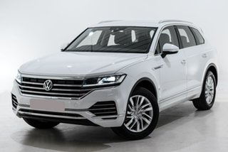 2019 Volkswagen Touareg CR MY20 190TDI Tiptronic 4MOTION White 8 Speed Sports Automatic Wagon.