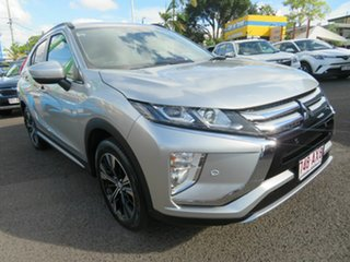 2019 Mitsubishi Eclipse Cross YA MY19 LS 2WD Silver 8 Speed Constant Variable Wagon.
