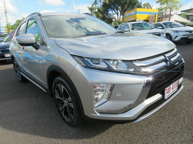 Used Mitsubishi Eclipse Cross YA MY19 LS 2WD Mount Gravatt, 2019 Mitsubishi Eclipse Cross YA MY19 LS 2WD Silver 8 Speed Constant Variable Wagon